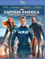 Captain America: The Winter Soldier (Blu-ray Disc, 2014) VG