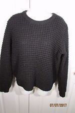 Marc by Marc Jacobs Pullover Sweater, Small, Black, Long sleeves, wool/nylon