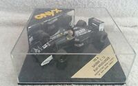 Onyx Sauber C 13 Karl Wendlinger Ref.193A. All new and mint formula 1.1:43 scale