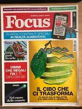 RIVISTA FOCUS SCOPRIRE E CAPIRE IL MONDO n. 291 Gennaio 2017