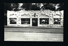 Arnolds Park Iowa IA c1925/30s RPPC Harry's Kurio Kastle, TAXIDERMY IN WINDOWS C
