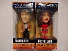 Doctor Who Bobble Heads 11th DOCTOR (Matt Smith) & CLARA OSWALD **New in Boxes*