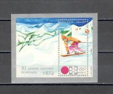 A2221 - POLONIA 1972 - FOGLIETTO N°55 ** OLIMPIADI INVERNALI - VEDI FOTO