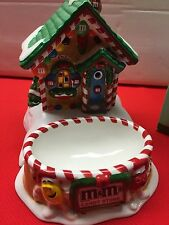M&M DEPT #56 CANDY STORE LIGHTED HOUSE