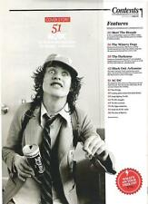 AC/DC ANGUS COLA & CIGGIE  magazine PHOTO/Poster/clipping 11x8 inches