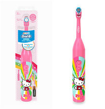 ORAL-B Hello Kitty Pink Spin Brush Battery Powered ToothBrush New Free Shipping