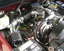 Black Air Intake System Kit&Filter For 1999-2000 Cadillac Escalade 5.7L V8
