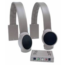 Audio Fox Gray TV Listening Speaker System - Hard of Hearing TV Speaker