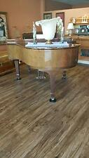 Wurlitzer Baby Grand Piano With Padded Seat