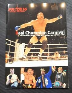 MMA Program  PRIDE.16 Mark Coleman  vs.Antonio Rodorigo Nogueira
