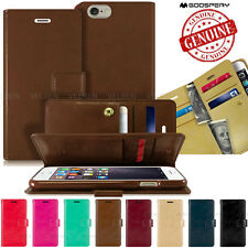 Dual Flip wallet Case Extra Card pocket Cover For iPhone XR/Galaxy S10 5G/LG V50