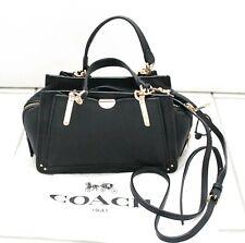Coach 36407 Dreamer 21 Smooth Leather Satchel Bag Crossbody Black