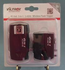 Viltrox FC-240 Wireless Remote Flash Trigger 2.4 GHz For Nikon New Package