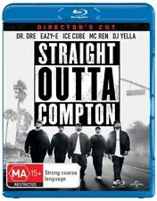 STRAIGHT OUTTA COMPTON DIRECTOR'S CUT Dr. Dre Ice Cube Blu-ray Region B PAL