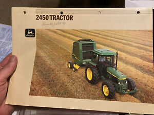 John Deere 2450 tractor brochure leaflet 2250 2650 2850 2140