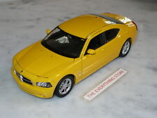 Welly Dodge Charger Hemi Daytona R/T 1:24 Yellow Usa Free Ship