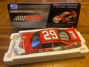 #29 Kevin Harvick 2011 Budweiser Bowtie Can Chevy Impala 1 24 Lionel Car