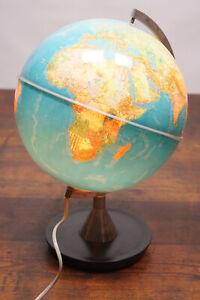 70er Vintage Globe Light Globus Lamp Advertising Globe Desktop Globe 60er