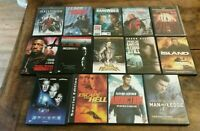 Lot Of 14 DVD Action Sphere, Tomb Raider, Insomnia, The Stand and More Free Ship
