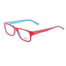 25ae9effbfa Ray-Ban Rectangular Eyeglass Frames RB5268 Red blue 48mm