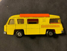 Vintage Lesney Matchbox Yellow Speed Kings K-27 Camping Cruiser Great Condition