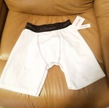 New Xersion Youth Compression Shorts, White Size Xxl (18/20)