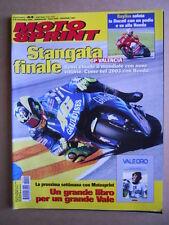 MOTOSPRINT n°44  2004 [Q77]  Test DUCATI 999