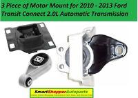 K2503 Motor /& Trans Mount Set 3pcs For 2014-2017 Ford Transit Connect 2.5L AUTO
