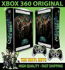 XBOX 360 Tortugas Ninja Mutantes TMNT Pegatina carcasa & 2 Mando Pad Skins