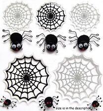 Ek Success Jolee's Boutique 3-D Autocollants Arachnophobia Mignon araignées et toiles
