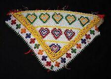 Perles écusson triangulaire Kuchi perles écusson vintage hippie écusson