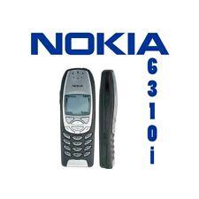 TELEFONO CELLULARE NOKIA 6310i JET BLACK GRAY CANDY BAR GSM BLUETOOTH.