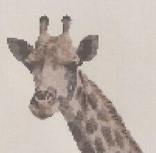 Giraffe Counted Cross Stitch Kit