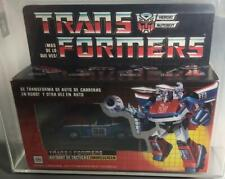Transformers Original G1 AFA 80 IGA Smokescreen w/ Bluestreak Body MOSC MIB