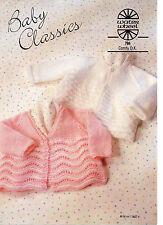 ... Stylecraft Bebé /& Childrens Cardigans especial Tejer patrón 9284 DK
