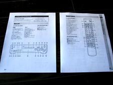 Sony MDS-JB980 Mini-Disc deck owners instruction manual