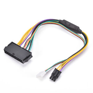 z230 sff atx psu power adapter cable 24pin to 2x 6pin In T^