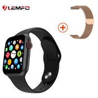 Lemfo W68 reloj inteligente frecuencia cardíaca presión arterial for Android iOS