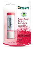 Himalaya Strawberry Shine Lip Balm 4.5g Moisturizing & Gloss Effect