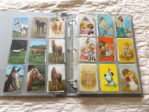 SWAP CARD  ALBUM  WITH . 267 CARDS