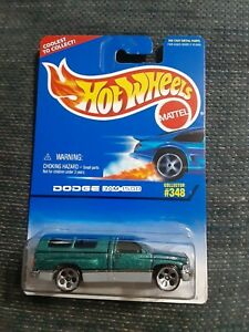 1997 Hot Wheels Dodge Ram 1500 Green  5DOT #348
