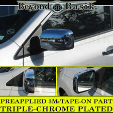 Fits 2008-2013 NISSAN ROGUE Chrome Mirror Covers WITHOUT Side-View Cameras