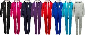Kids Plain Hooded Onesie / Childrens Jumpsuit (Boys Girls onesy onsie not Gerber