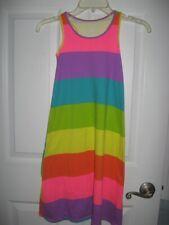 The Childrens Place Girls Rainbow Maxi razor back Dress Size S/P 5/6