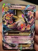 MEGA M Alakazam EX 26/124 XY Fates Collide Set ULTRA RARE Pokemon Card MINT/NM