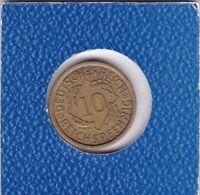 10 Pfennig 1930 A Deutsches Reich German Empire
