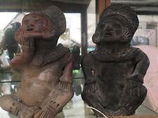 Coppia Di Statuine Pre Colombiane