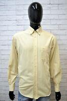 Camicia Uomo CARRERA Taglia Size XL Camicetta Maglia Manica Lunga Shirt Man