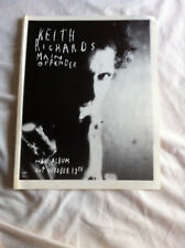 KEITH RICHARDS ROLLING STONES VINTAGE 1992 GLOSSY MAGAZINE PRESS ADVERT POSTER