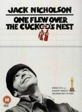 ONE FLEW OVER THE CUCKOO'S NEST JACK NICHOLSON WARNER UK REGION 2 DVD NEW